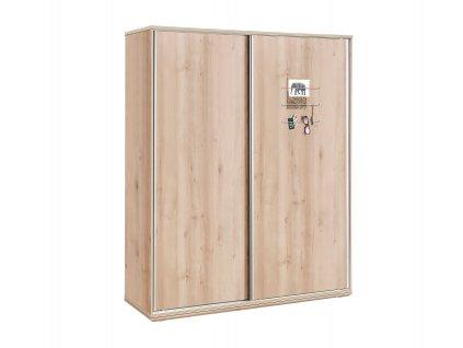 skrina s posuvnymi dverami duo