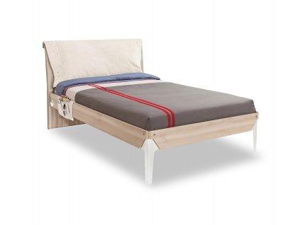 postel s calounenym celem 120x200 duo