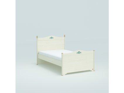 Studentská postel 120x200 cm Flora
