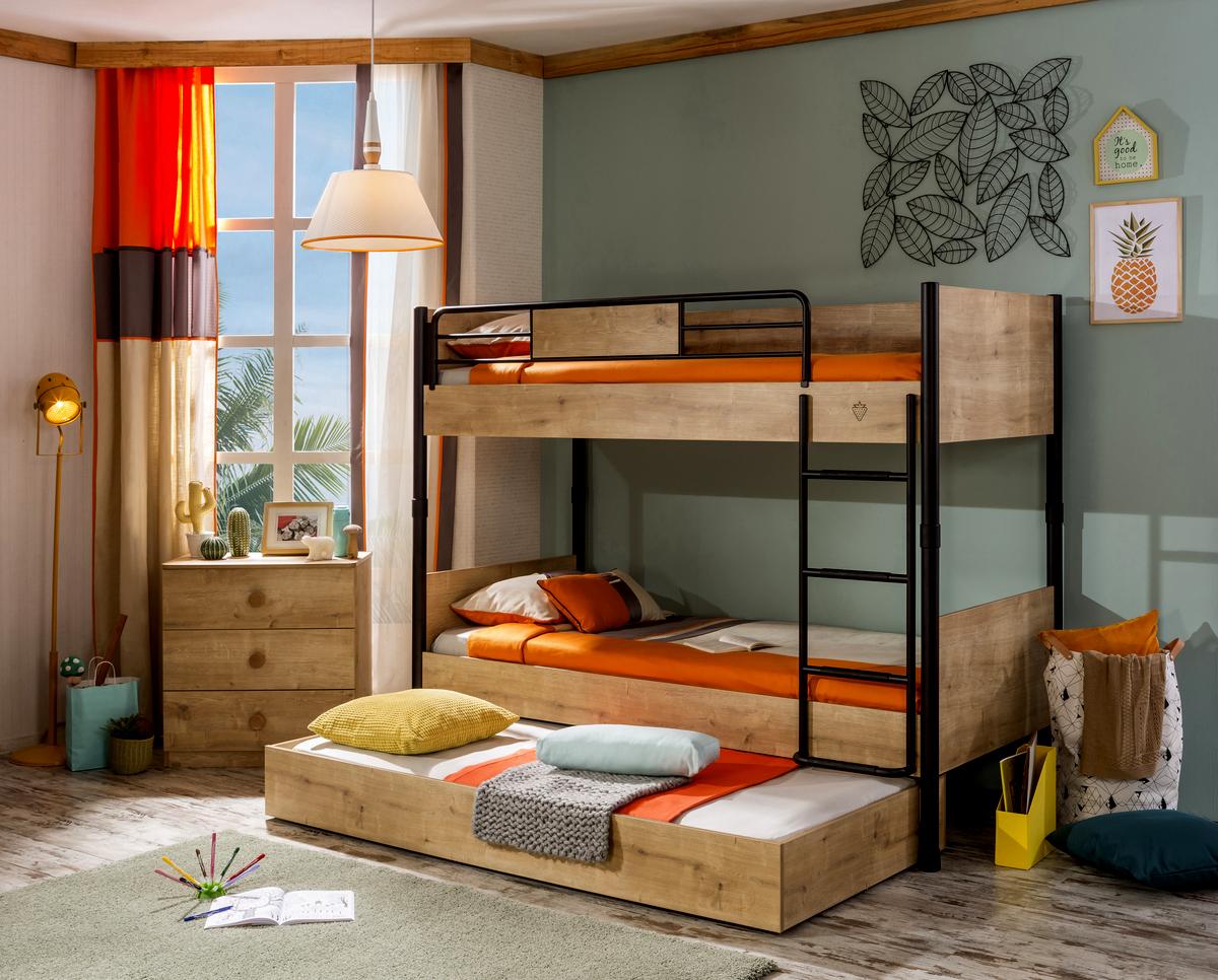 Detské a študentské postele s úložným priestorom