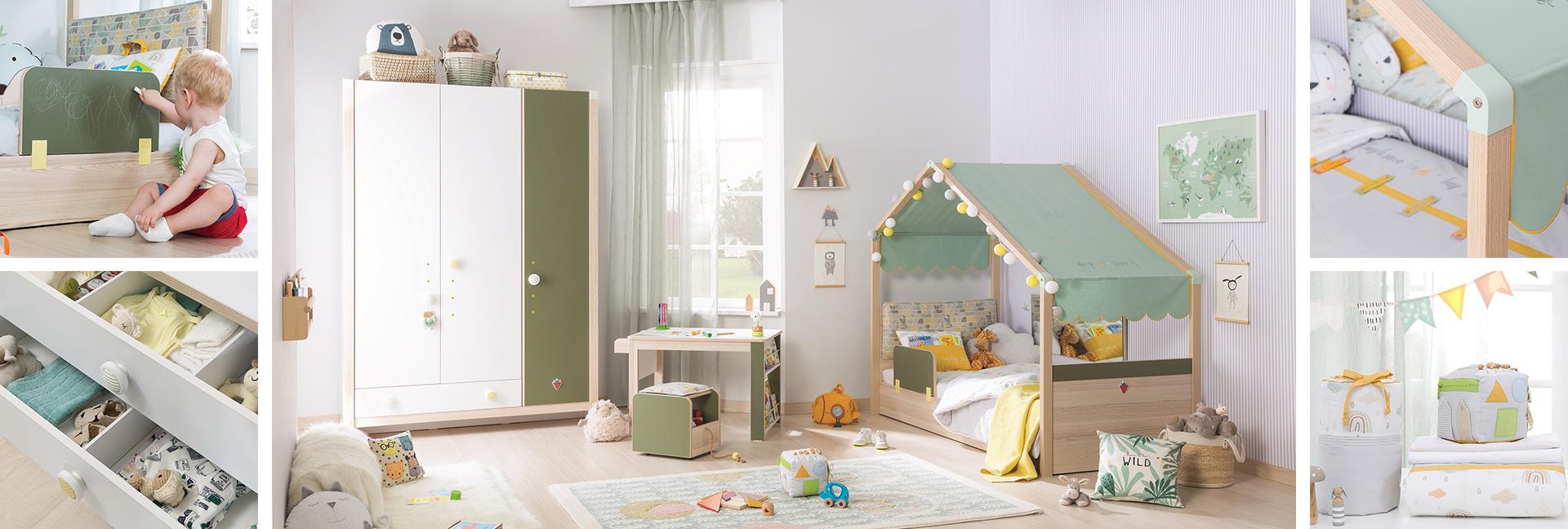 Detský kreativný nábytok Montes