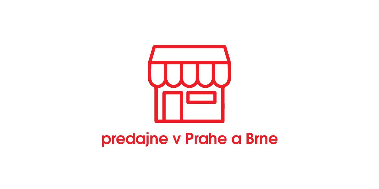 Predajna v Prahe i Brne