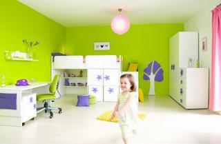 Biely detský nábytok