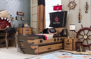 Detská posteľ loď