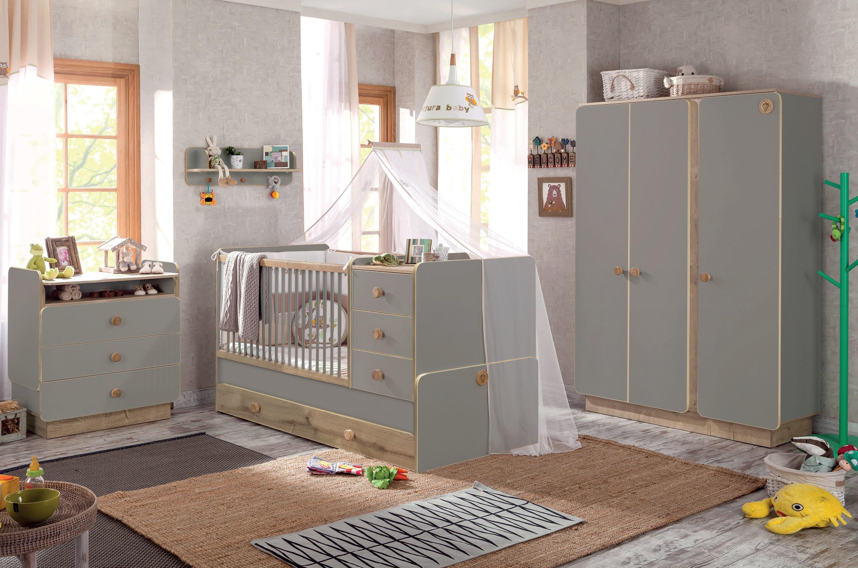 Izbička pre bábätko chlapca aj dievča Baby Grey