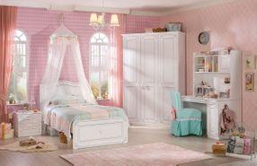 Praktická kolekcia nábytku pre dievčatá Selena