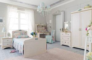Detská a študentská izba pre dievča Flower