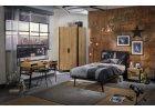Dizajnový nábytok pre študenta Wood Metal