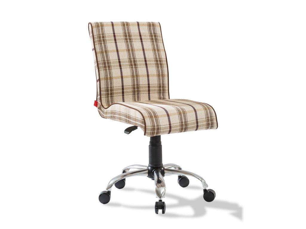 Stolička Soft kockovaná