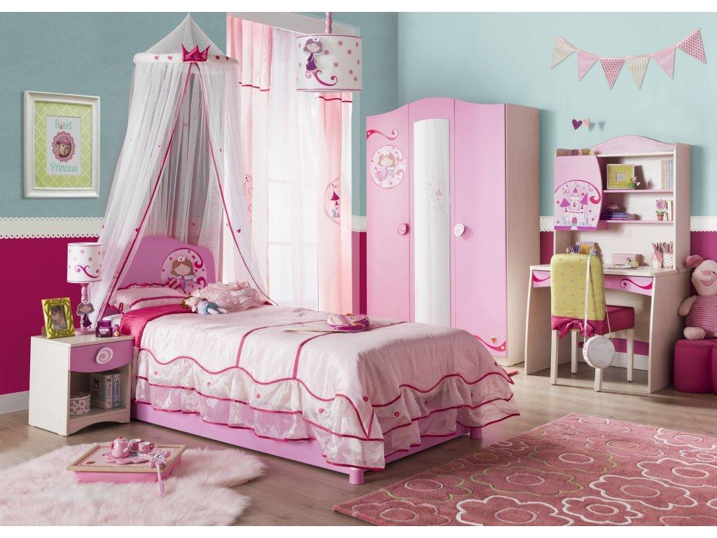 6804de0828 Detská knižnica SL Princess - Hezký detský nábytok