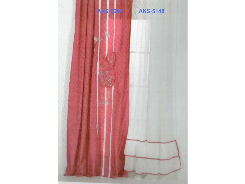Záves Romance AKS-5248