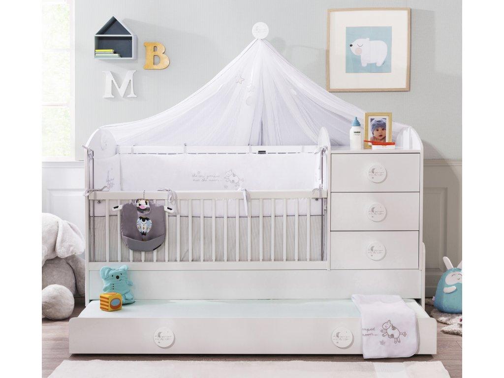 Detská rastúca postieľka Baby Cotton