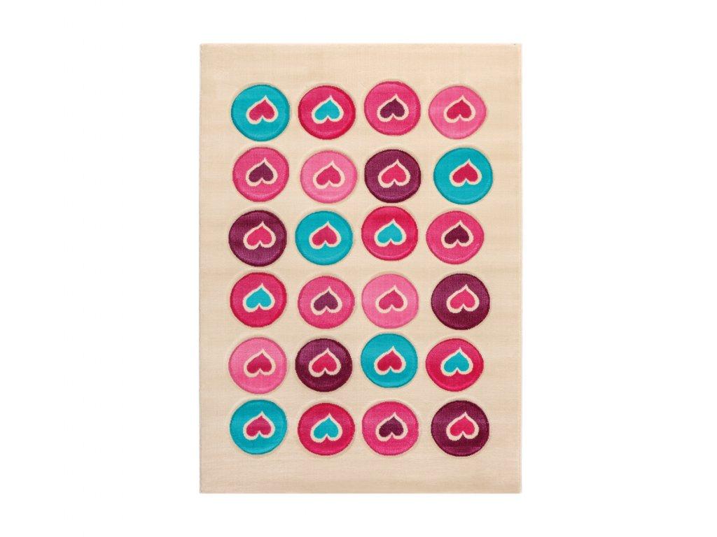 Detský koberec Love 133x190 cm
