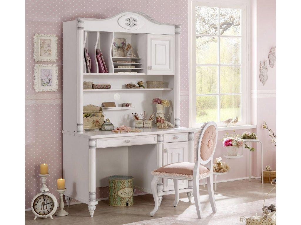 9fa5b1c67f82e Nástavec na písací stôl Romantic - Hezký detský nábytok