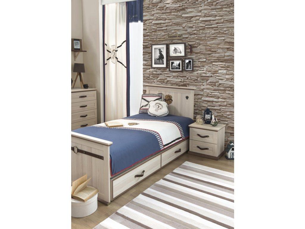 Detská posteľ 100x200 cm Royal