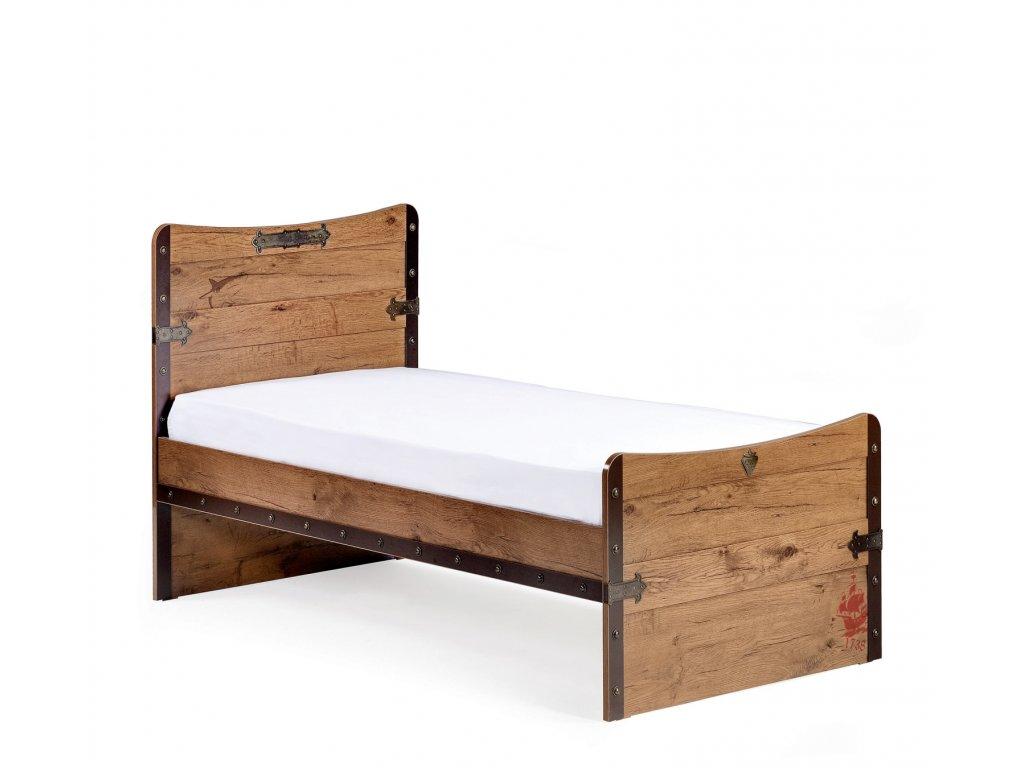 Detská posteľ 100x200 cm Pirate