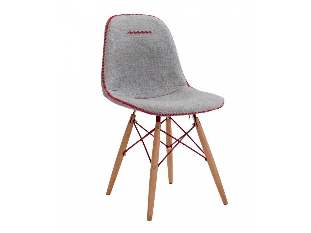 Študentská stolička Quatro sivá