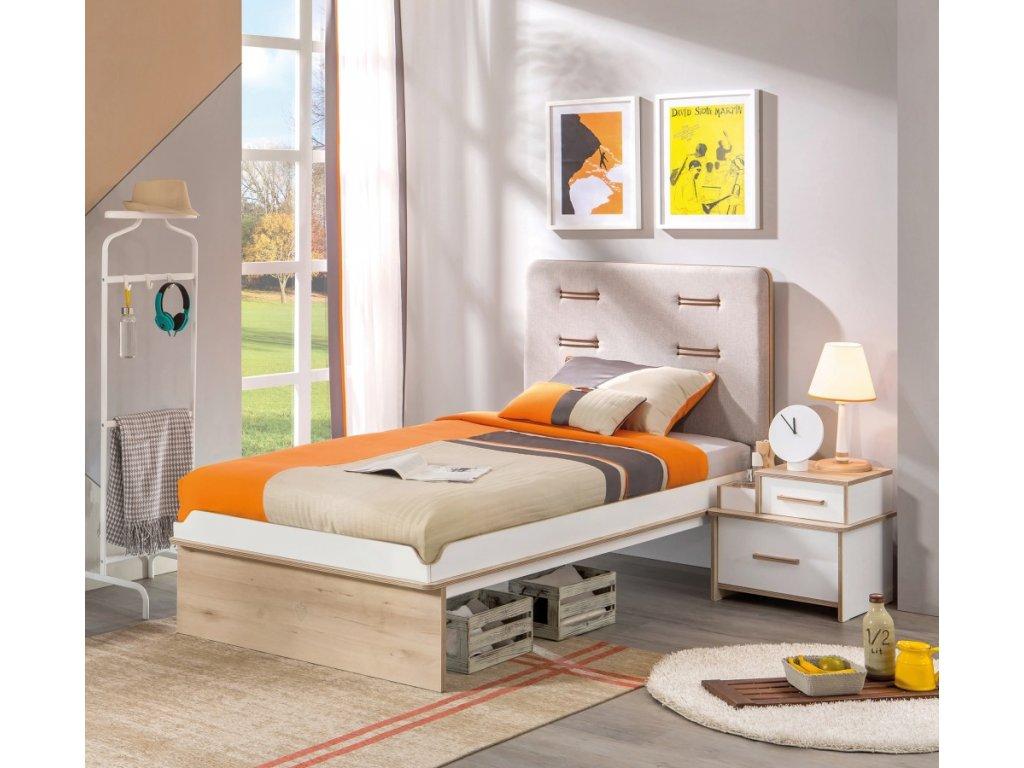 bb7fe5739261c Študentská posteľ 100x200 cm Dynamic - Hezký detský nábytok