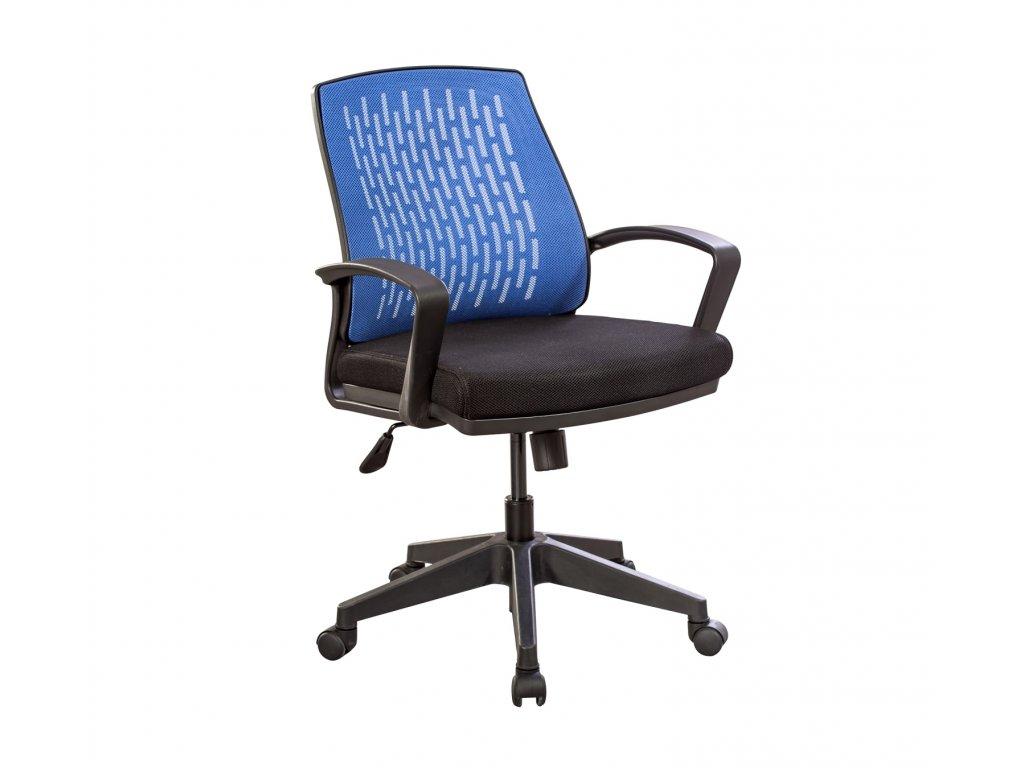 Študentská stolička na kolieskach Comfort modrá