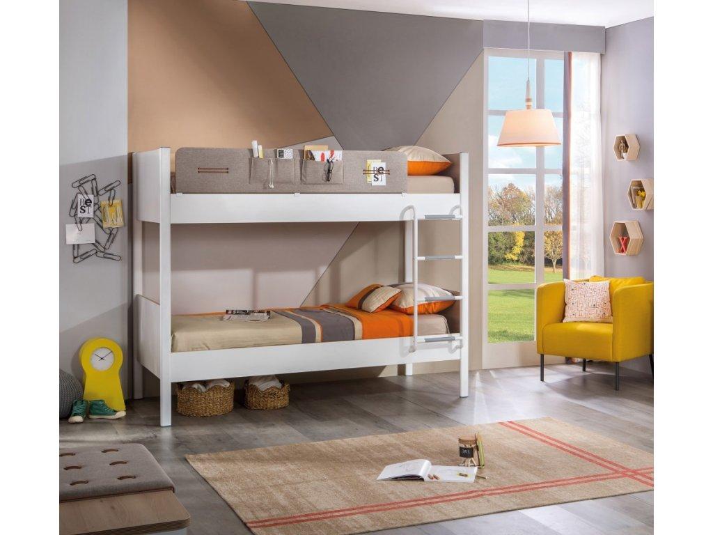 d60b1297acb98 Študentská poschodová posteľ 100x190 cm Dynamic - Hezký detský nábytok