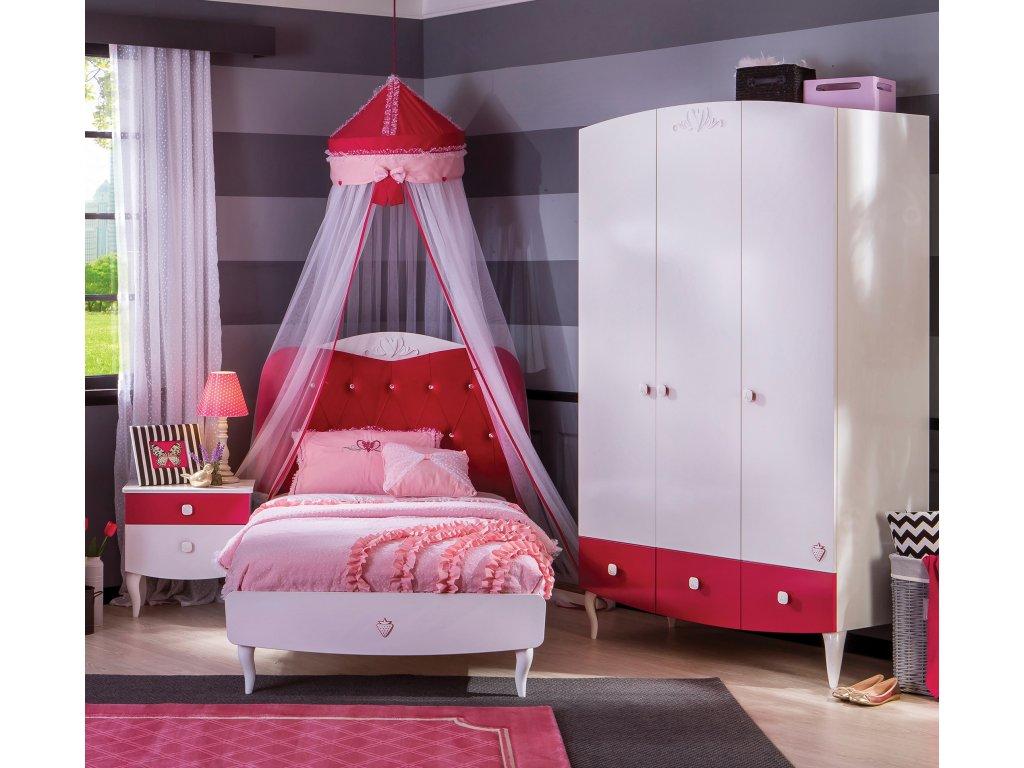 9c6e8ae25e Detská posteľ 100x200 cm Yakut - Hezký detský nábytok