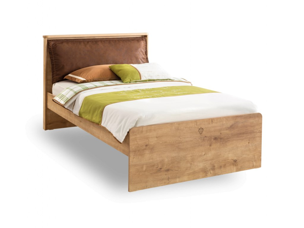Študentská posteľ 100x200 cm Mocha