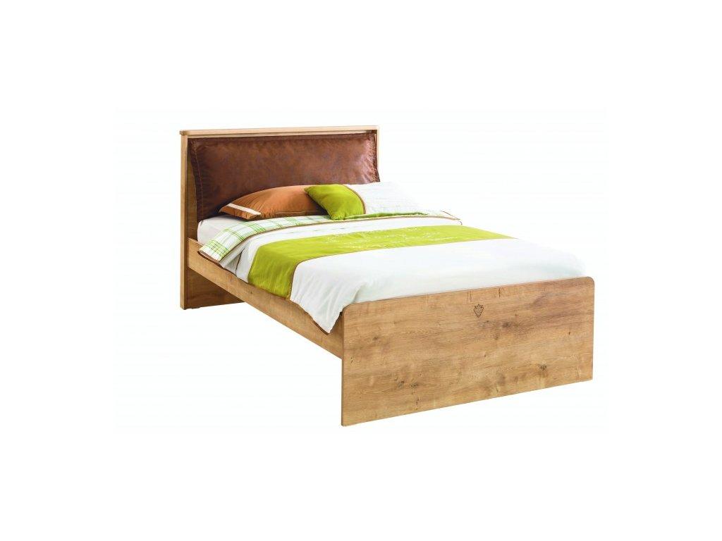 Študentská posteľ 120x200 cm Mocha