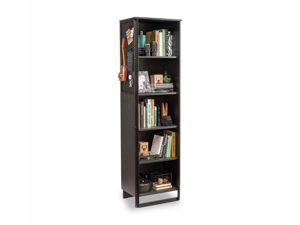Moderná knižnica Dark Metal