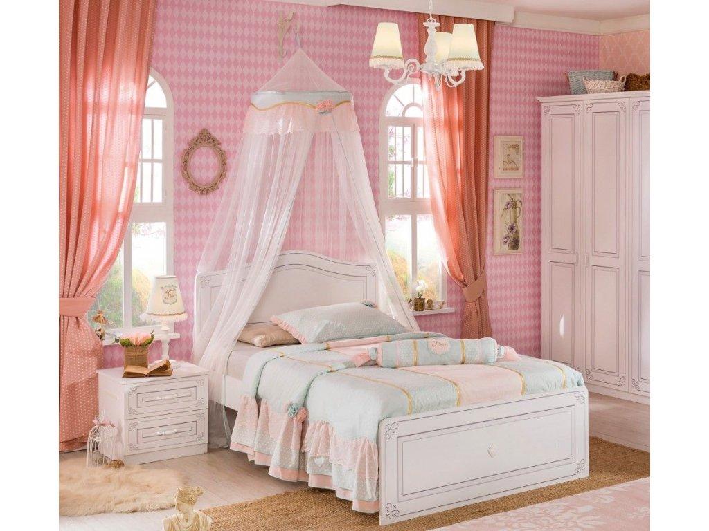 Študentská posteľ 120x200 cm Selena