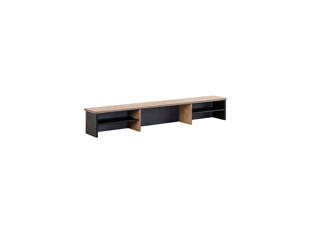Nástavec na veľký písací stôl Black
