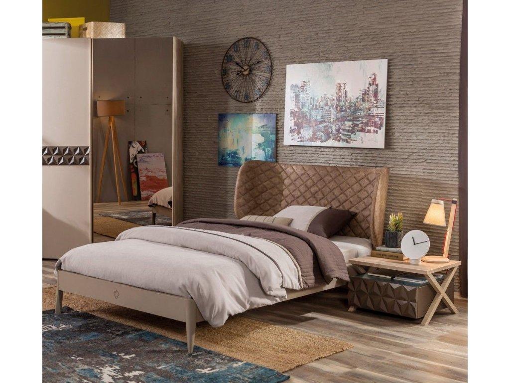 58cee4a3acdc4 Študentská posteľ 120x200 cm Lofter - Hezký detský nábytok