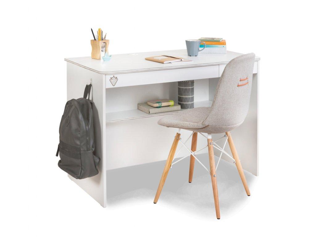 Písací stôl White