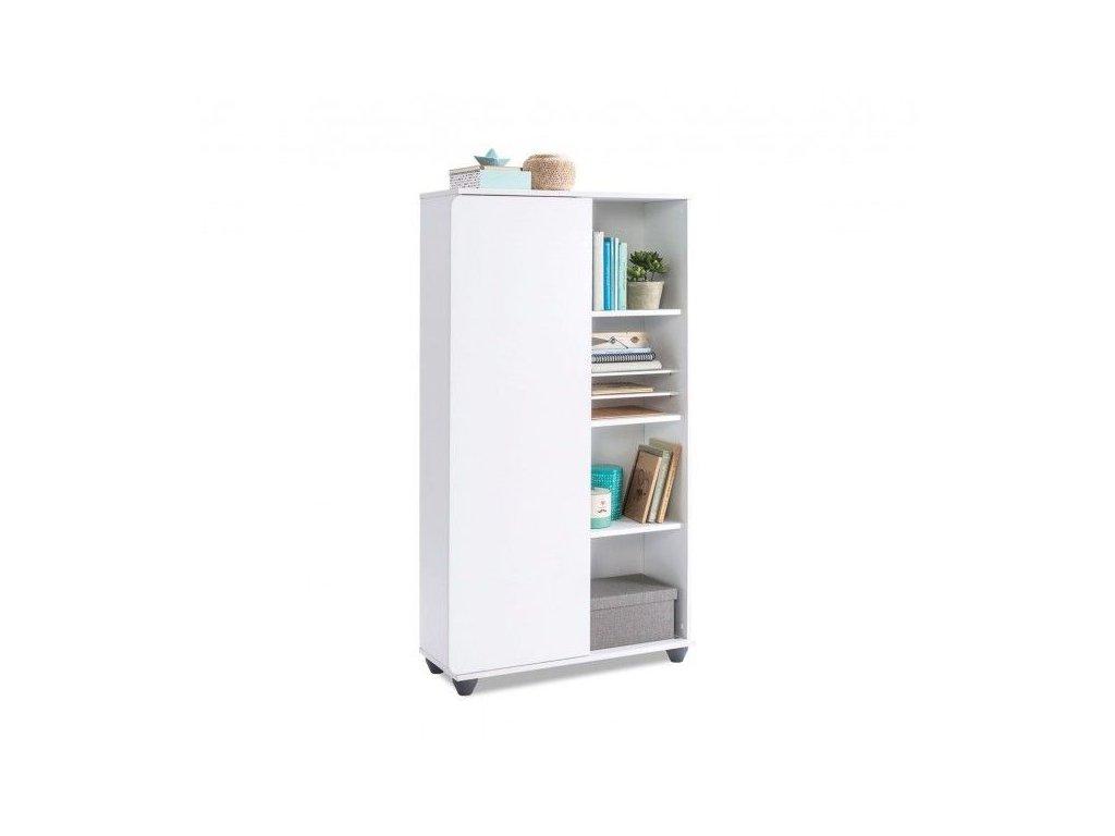 c39898174b627 Detská knižnica White compact · Detská knižnica White compact ...