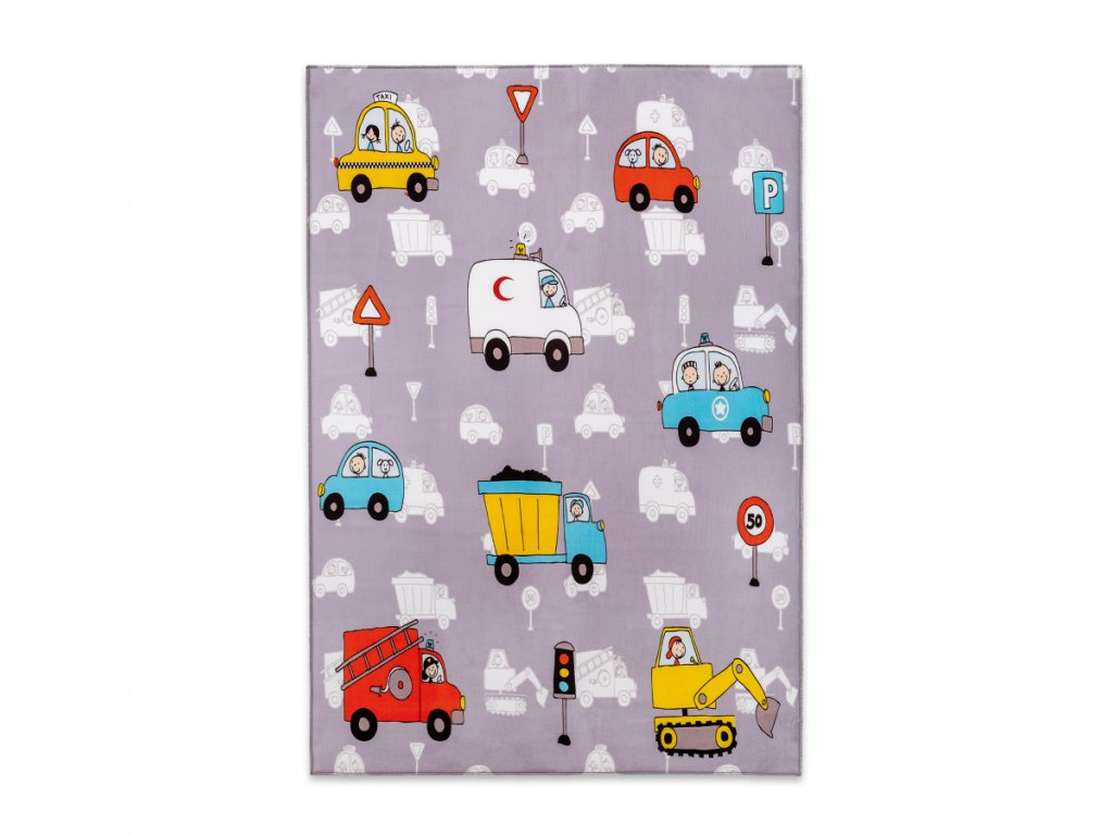 koberec pro chlapce mini vehlicle