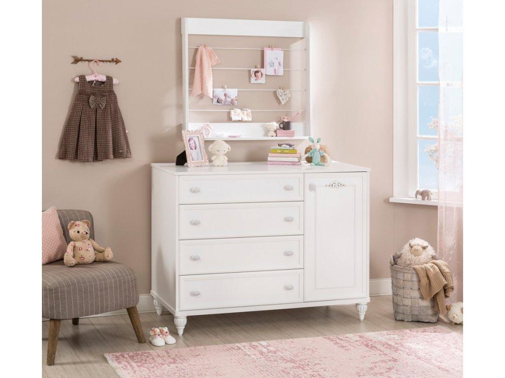 1b2d68605d Detský a študentský nábytok Romantic - Hezký detský nábytok