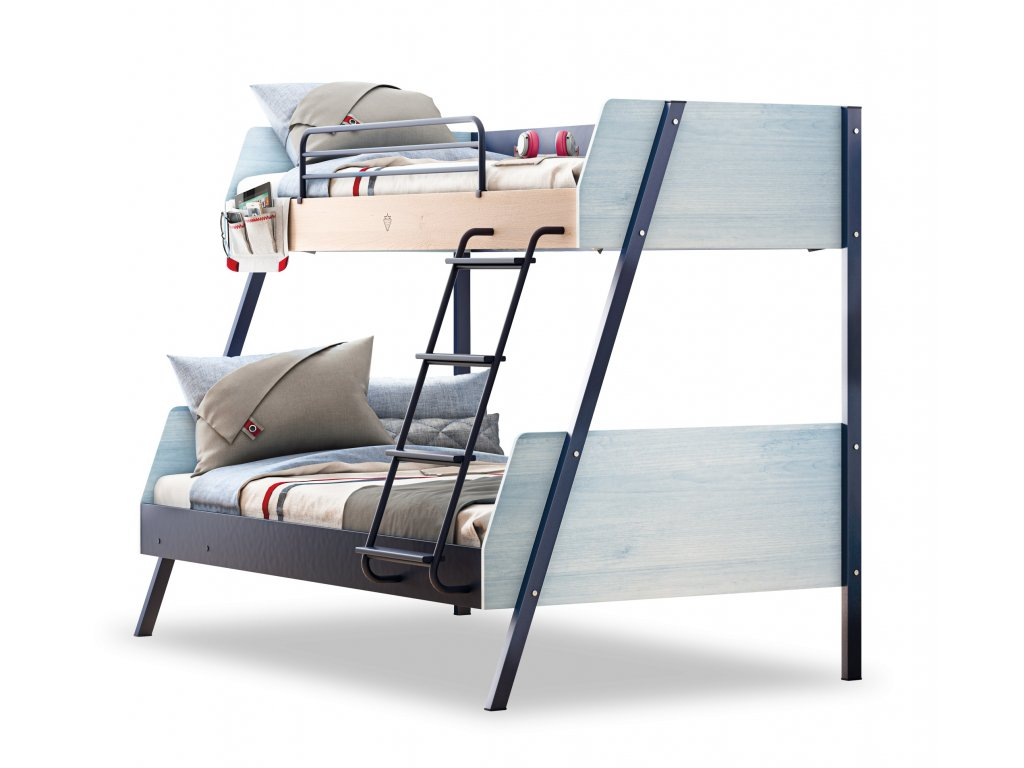 postel pro dve deti trio
