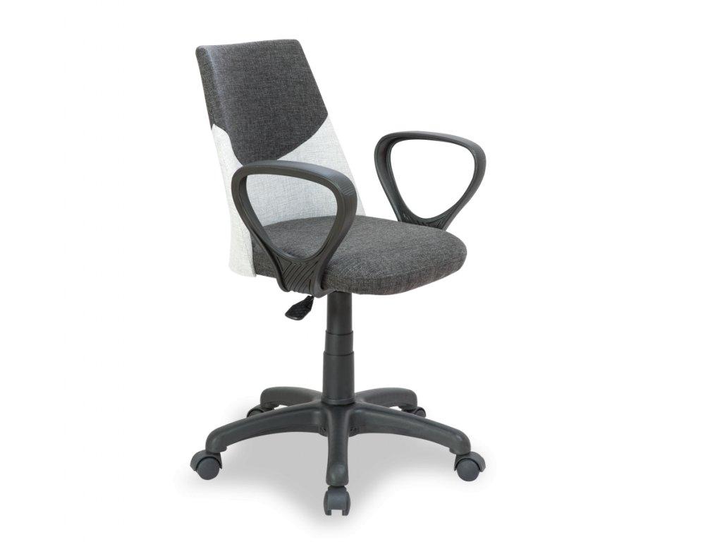 Študentská stolička Dual šedá