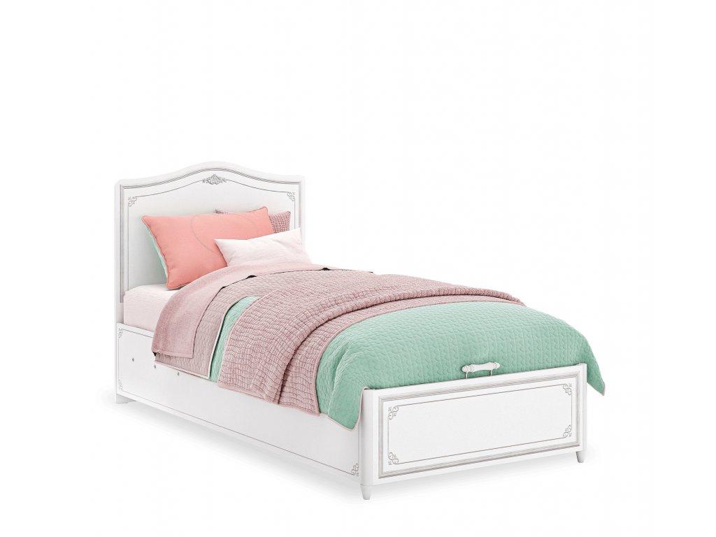postel s uloznym prostorem selena grey
