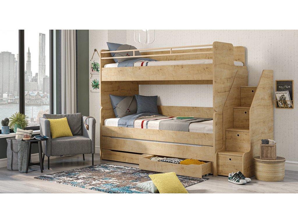 patrova postel mocha