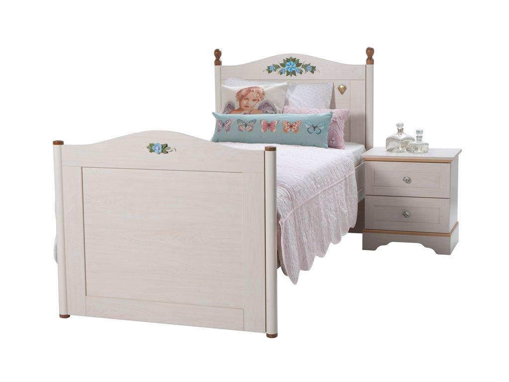 Študentská posteľ 90x200 cm Flora