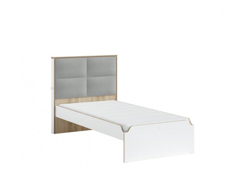 postel s calounenym celem 100x200 modera