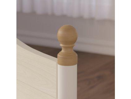 Študentská posteľ 120x200 cm Flora