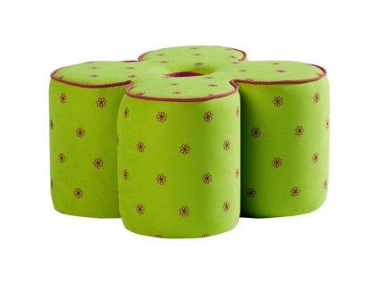 Puffy Daisy zelený