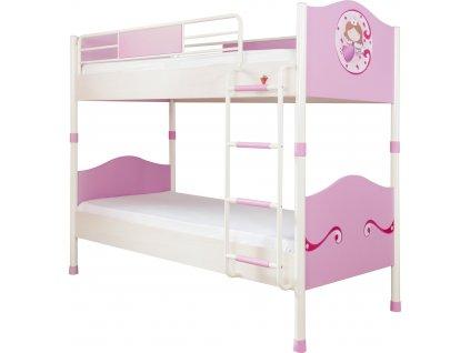 Detská poschodová posteľ 90x200 cm SL Princess