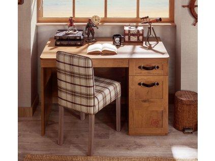 Detský písací stôl Black Pirate