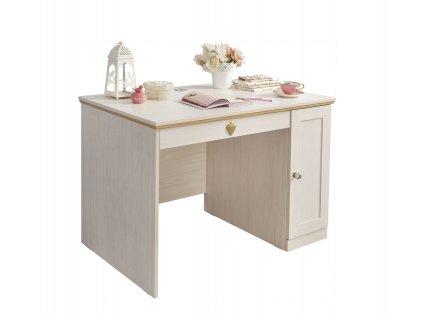 Študentský písací stôl Flower