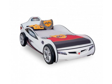 Detská posteľ auto 90x190 cm Coupe biela