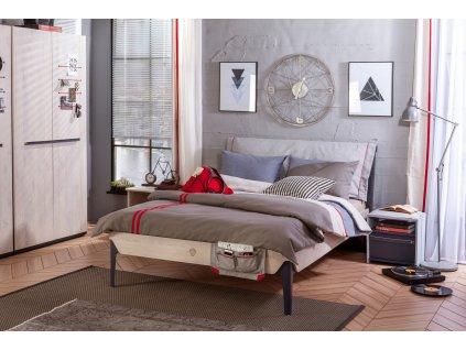 Študentská posteľ 120x200 cm Trio