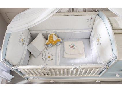 Posteľná súprava do postieľky 80x130 cm Baby Boy