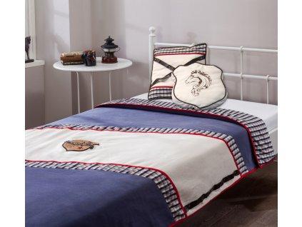 Prehoz na posteľ  Royal (120 -140 cm)